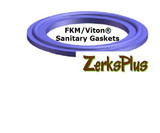 "Sanitary Gasket 2-1/2"" FKM/Viton® Purple Price for 1 pc"