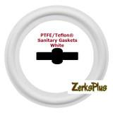 "Sanitary Gasket 1-1/2"" PTFE/TEFLON® White  Price for 2 pcs"
