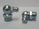 M10 x 1.25mm 90° Metric Grease Zerk Fitting 2 Pcs