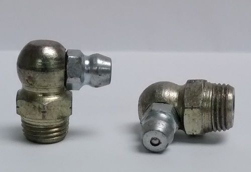 1/8-27 NPT Thread Forming 90 Degree Grease Fitting