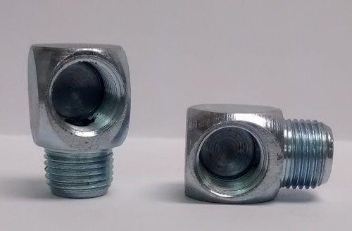 Adapter 1/8-27NPT Male x 1/8-27NPT Female 90 degree (Short)