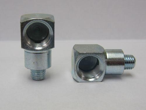 Adapter 90 degree 1/4-28 Taper x 1/8-27NPT