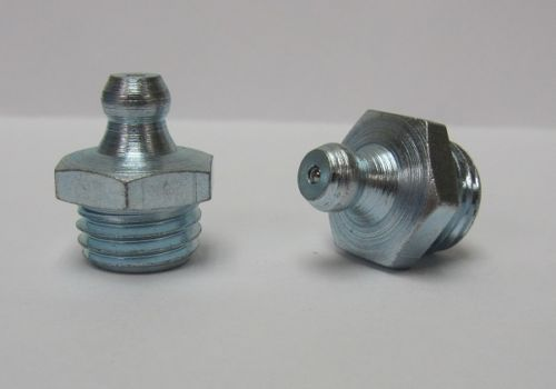 M12 x 1.5mm Straight Metric Grease Fitting