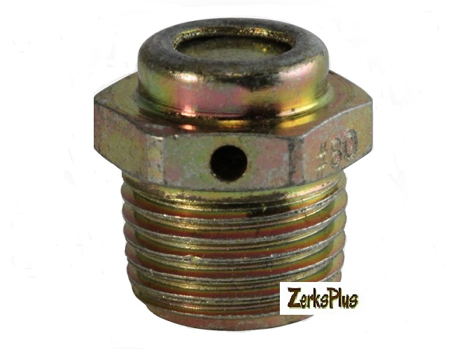 1/8-27 NPT Relief Vent Side 1-5 PSI Fitting 2 Pcs
