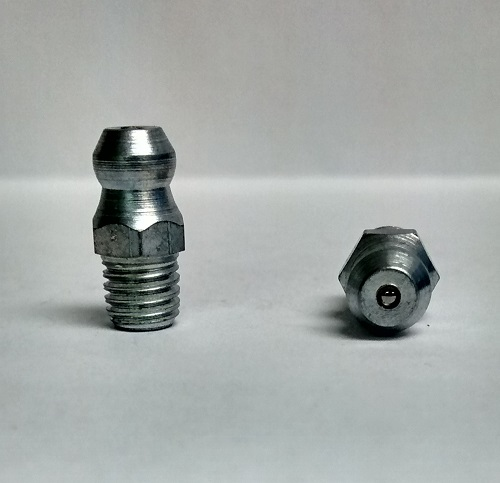 1/4-26 BSF Straight British Grease Zerk Fitting 2 pcs