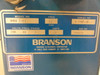 Branson Omni-2000 Model 1012 Ultrasonic w/ TDR15 Robot, Greco Dryer