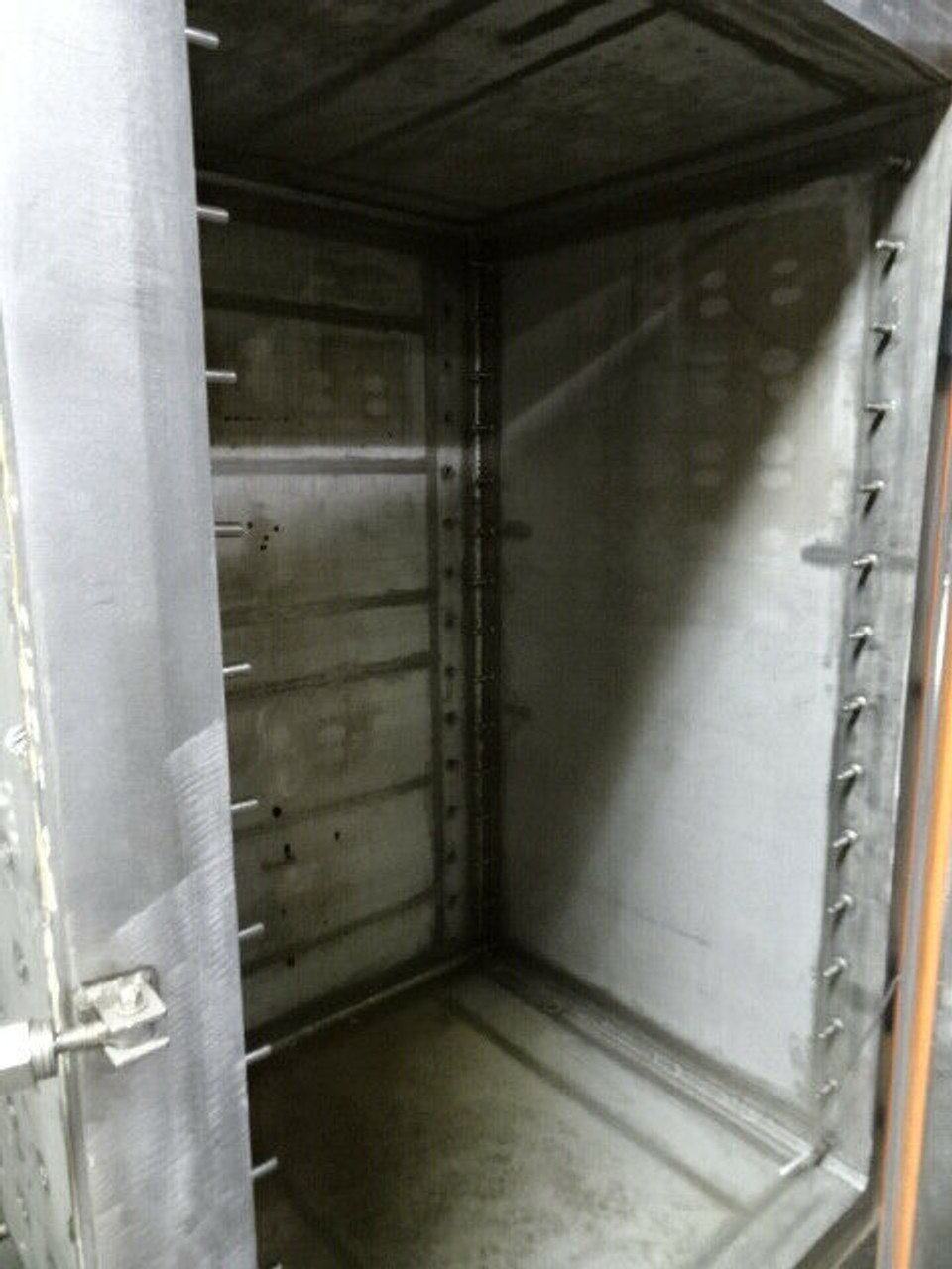 2000 McGill 316SS Tray Dryer; MAWP: 100 psig at 300 Degrees F; S/N N-5346-1