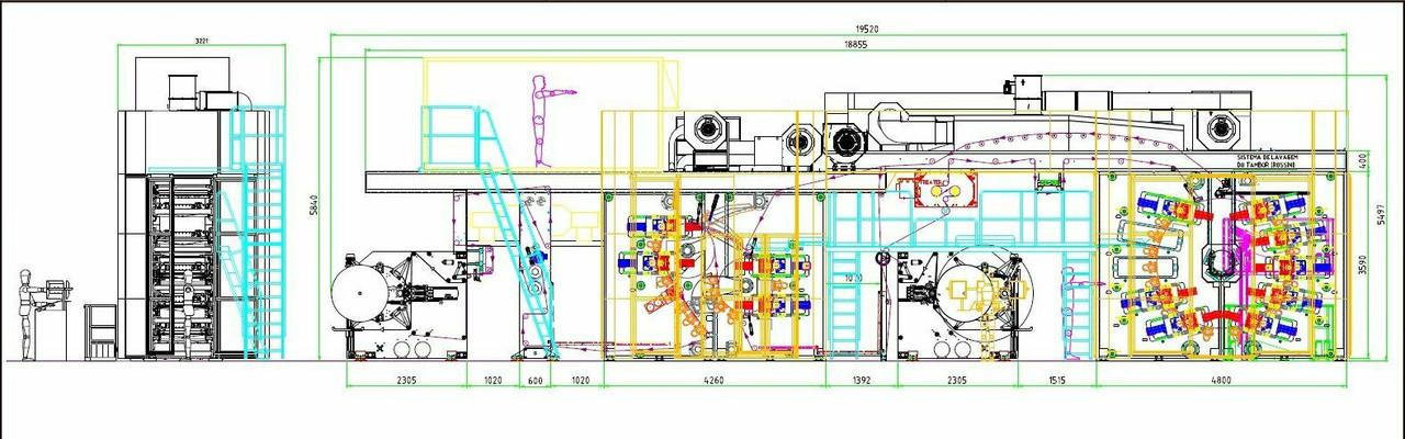 "2015 FEVA 12-Color 31.5"" Servo Drive CI Flexographic Printing Press"
