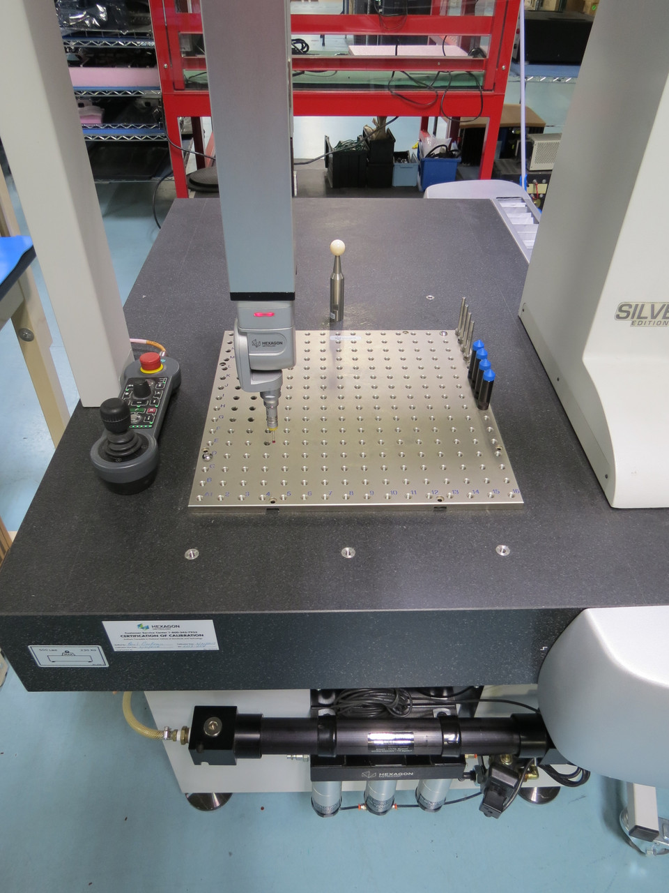 Hexagon (Brown & Sharpe) Global Performance Silver Edition 05.07.05 Coordinate Measuring Machine
