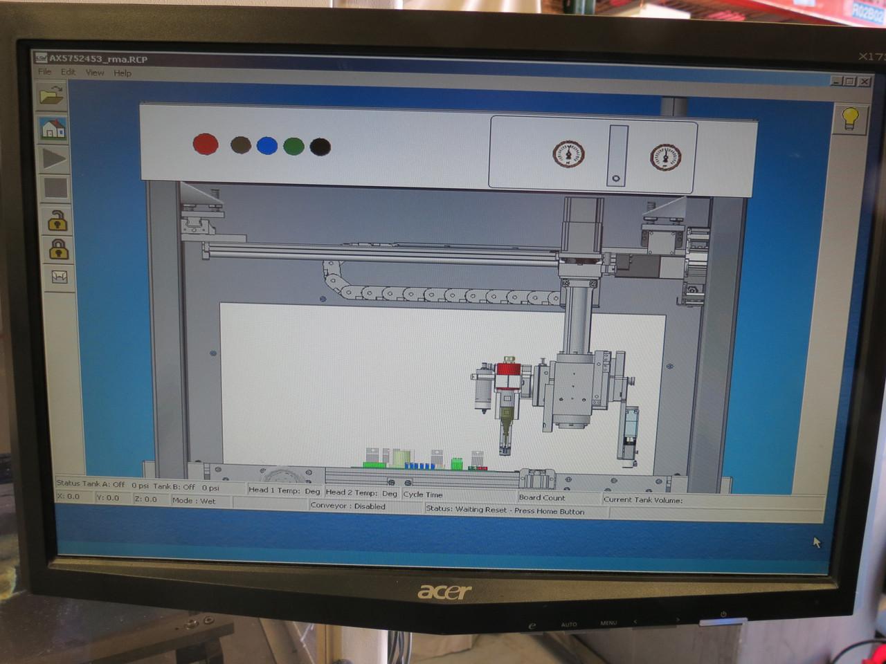 2009 USI Ultrasonic Systems Inc. Prism Ultra-Coat 300 Conformal Coating Machine
