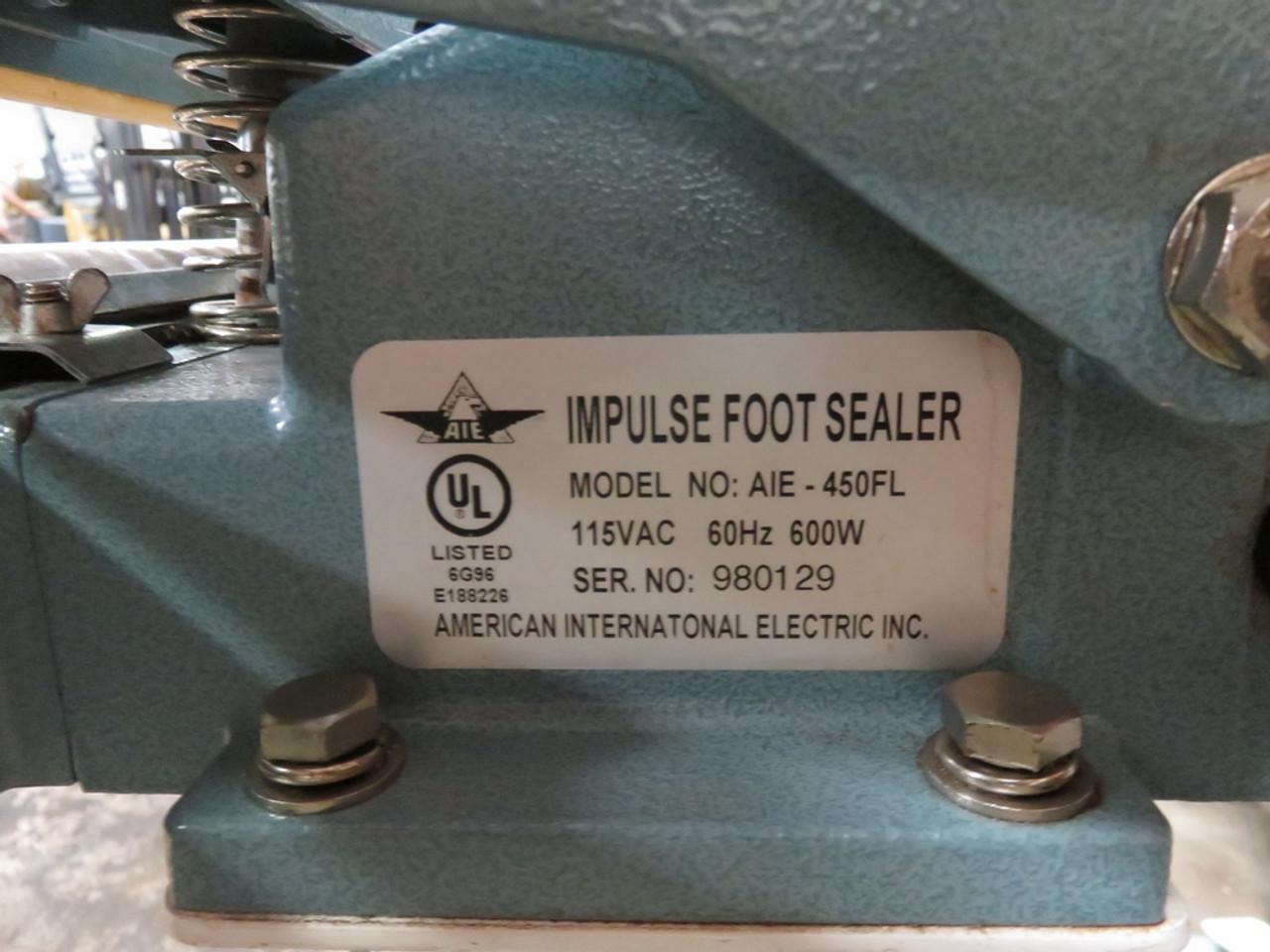 American International AIE-450FL Impulse Sealer