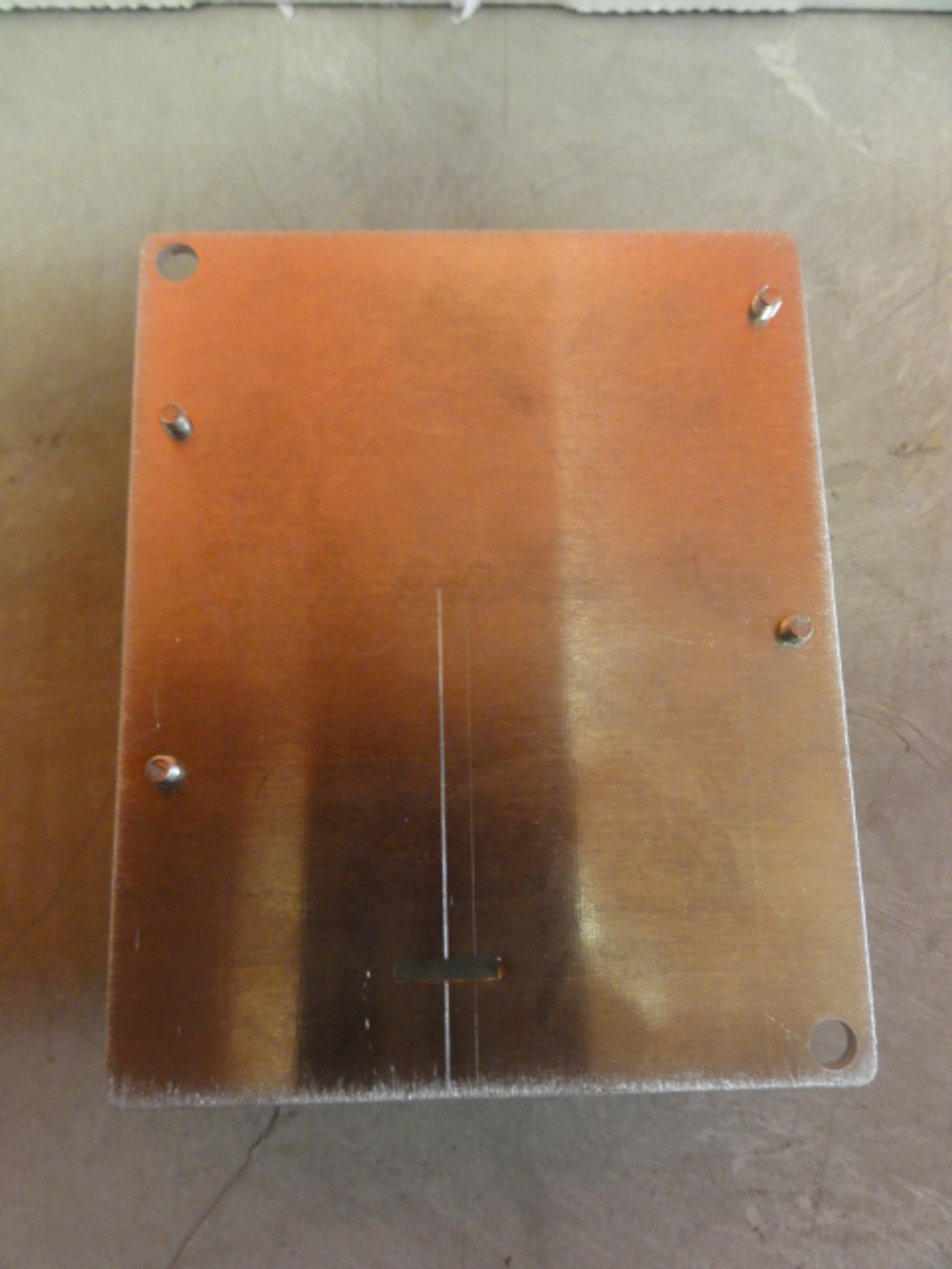 (2) RECOM RACD06-500 LED POWER SUPPLIES ON MOUNTING PLATE