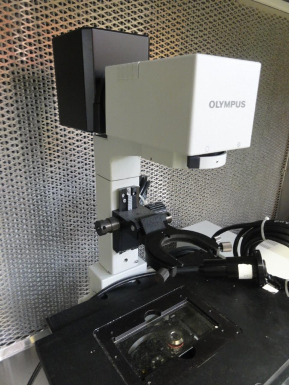 Olympus IX81 Microscope Inverted Fluorescence Microscope- See Description