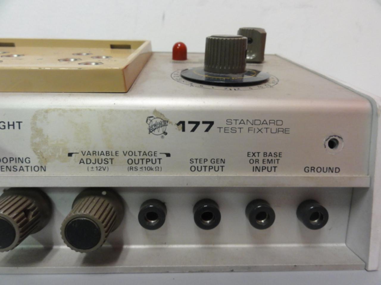 Tektronix 177 Standard Test Fixture