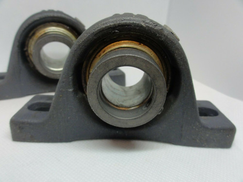 (2) INA ASE05 Pillow Block Bearings
