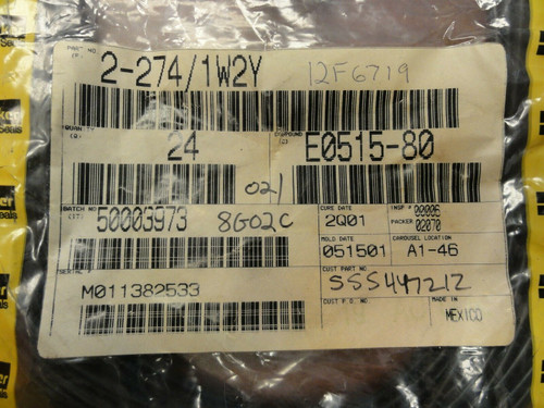 (24) Parker Seals P/N 2-274/1W2Y Gaskets / Rings / Seals *NEW*