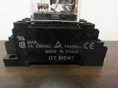 (3) Relay Sockets 07 84EW2 with Relays
