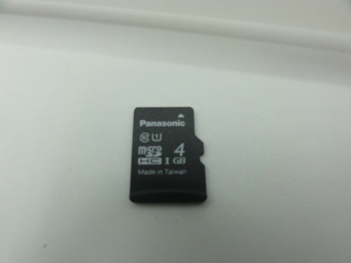 (42) Panasonic RP-TMTA04DA1 4GB Micro SD Cards