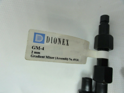 (7) Dionex GM-4 2mm Gradient Mixers, P/N's 049135 & 049136