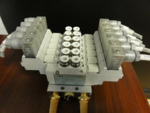 (6) CKD CORP 4GA219-B Valves w/ Base