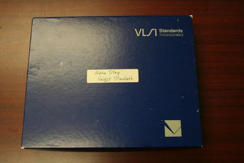 2- VLSI Step Height Standards -4426 & 4405 w/ Tencor 9.4KA Calibration Standard