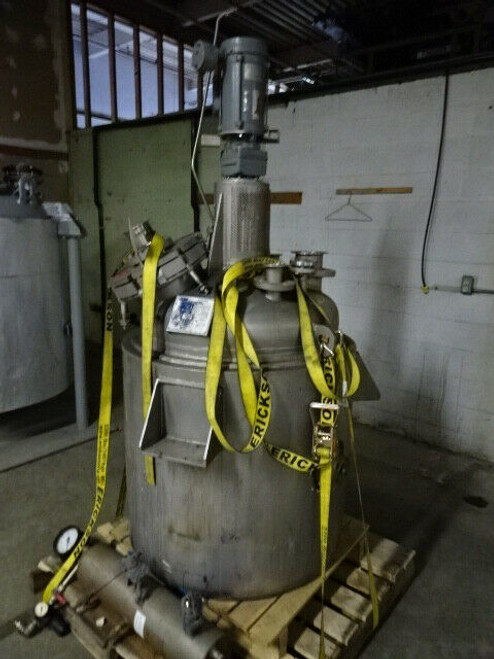 2003 Patterson Industries Hastelloy Reactor; 100-Gallon