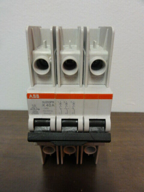 ABB SU203PR K40A Circuit Breaker - 3P 240V 50/60Hz 10kA IR