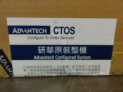 Advantech Model SPR-FPV240-AE Operator Interface / PC - New, Factory Sealed