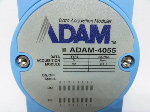 Advantech JSD ADAM-4055 Data Acquisition Module, Type: DI / DO, Signal: Bit0-7