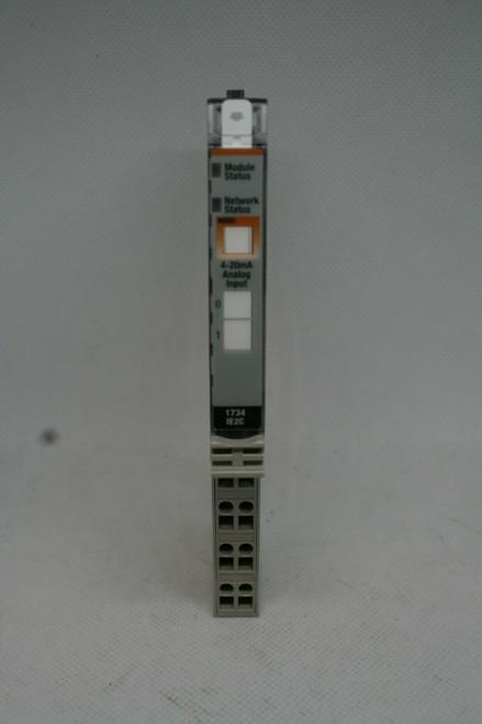 Allen Bradley 1734-1E2C Point I/O Output Module, Ser C, 4-20mA Analog Input
