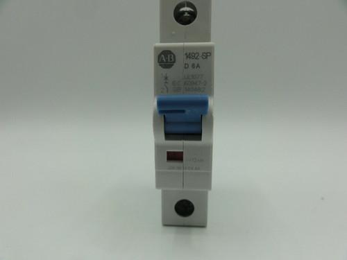 Allen Bradley (AB) 1492-SP 6 Amp, Miniature Circuit Breaker