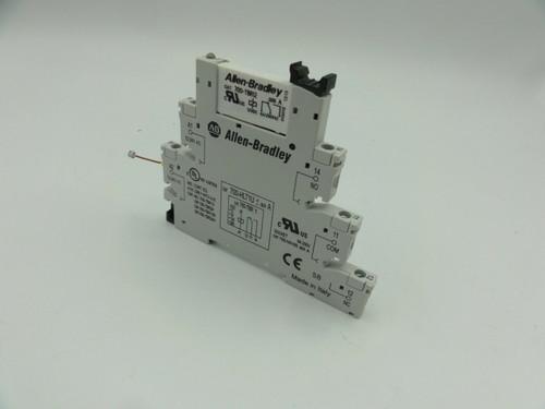 Allen Bradley 700-HLT1U / 700-TBR12 Socket Base Relay, Ser A