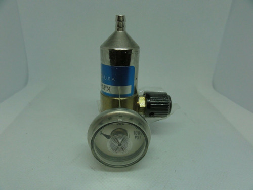ALPHAGAZ 715-2LPM Cylinder Pressure Regulator Gauge 0-1000 PSI *NEW NO BOX*