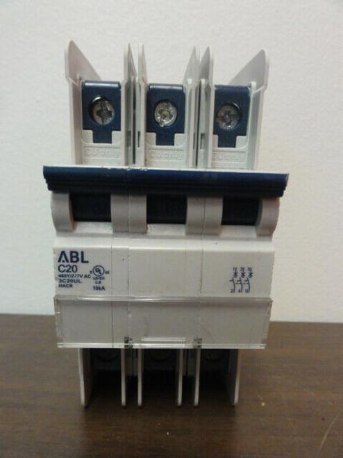 Altech ABL Sursum C20 3C20UL Circuit Breaker - 3 POLE