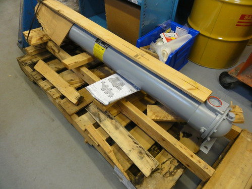 "American Industrial STS-1206-C6-TP-2Z Heat Exchanger 300PSI 300F (60"" Long) NEW"