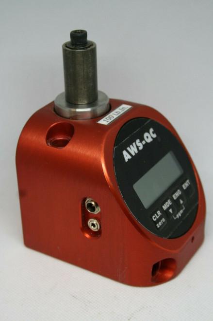 AWS - QC Torque Tester, 100 Lb. In. Capacity