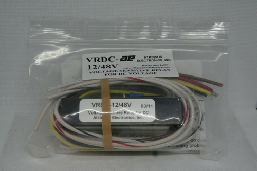 Atkinson Electronics VRDC-AE 12/48V Voltage Sensitive Relay For DC Voltage -2011
