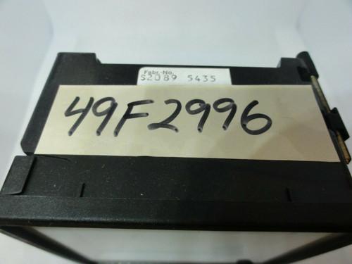 BBC GOERZ METRAWATT S2089 5435 A Meter, 0-6