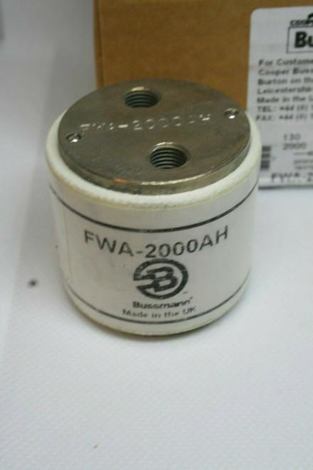 BUSSMANN FWA-2000AH 2000AMP 130V AC SEMI-CONDUCTOR FUSE