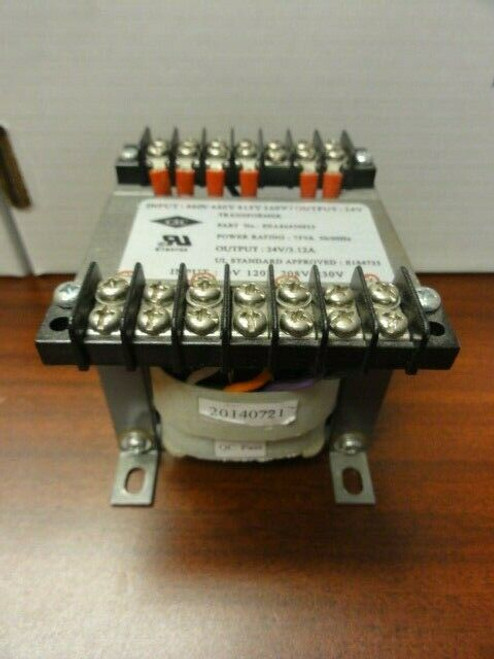 CSC Part# EEA86450933 Transformer, 75A 50/60Hz