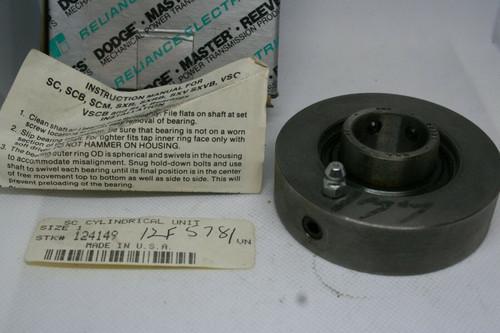 Dodge Master Model SC1 205 Q Cylindrical Unit Bearing, Size: 1 *NEW*
