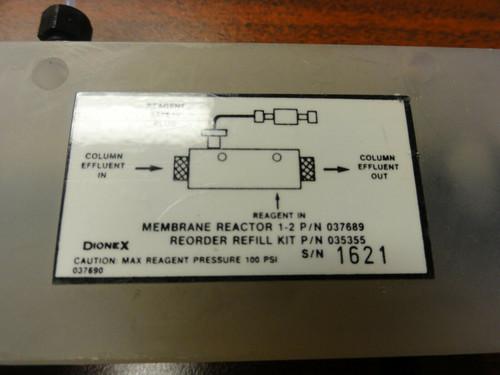 Dionex Membrane Reactor, P/N 037689