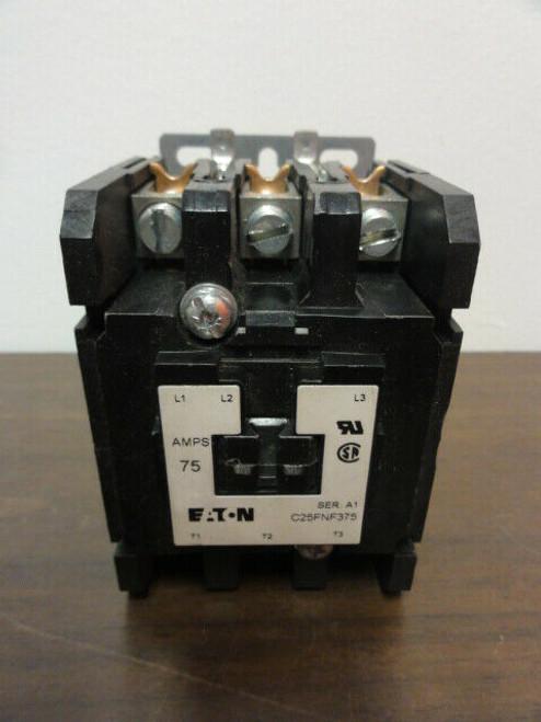 Eaton C25FNF375 Definite Purpose Contactor Controller 75A 3P