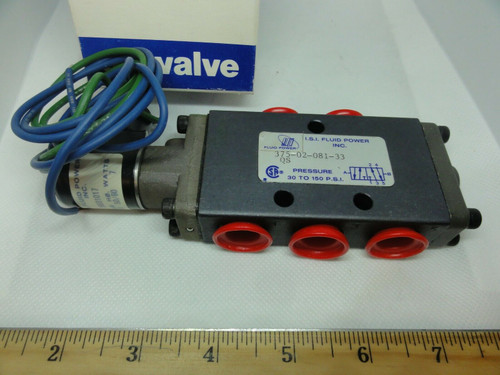 Fluid Power Omni 375 Series Air Valve, 02-081-33 *NEW*