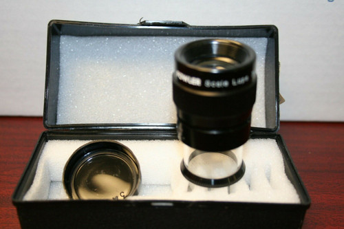 FOWLER SCALE MAGNIFIER LUPE 7X w/ CASE