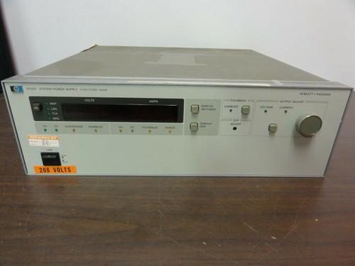 HP Model 6032A System Power Supply, 0-60V / 0-50A 1000W