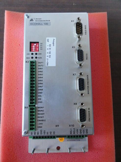 Jenaer Antriebstechnik ECOHALL 100 Controller / Servo Amp