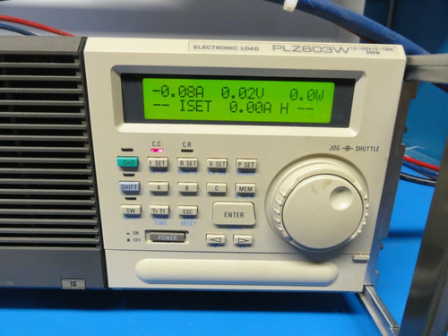 Kikusui PLZ603W Electronic Load, 1.5V - 120V, 0-120A, 600W