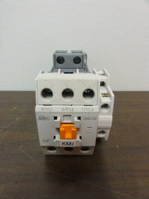 LS MEC GMD-32 Contactor AC 120 Volt 32A - USED