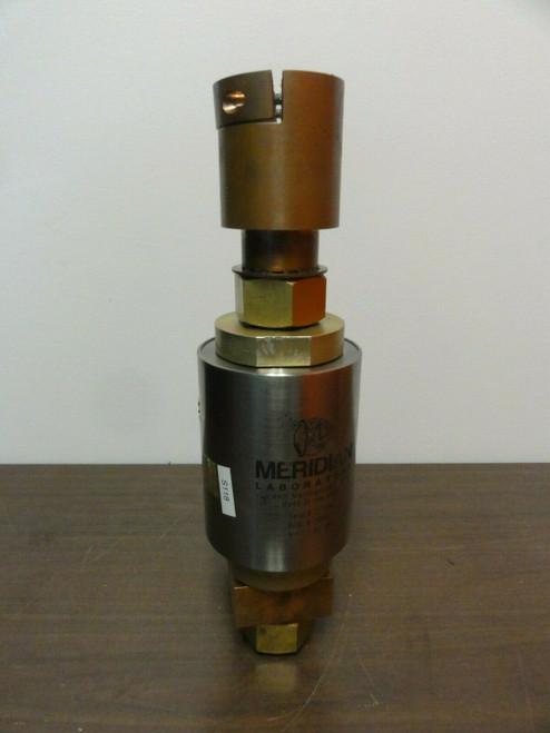 Meridian MC-2000 2000 Amp Single Contact Rotary Ground - Slip Ring, S/N 217.614